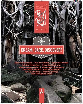 May – Dream. Dare. Discover